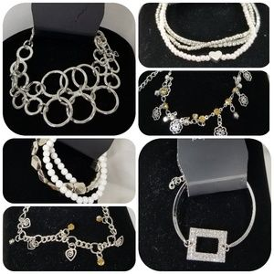Paparazzi Bracelet Bundle, 6 New Bracelets